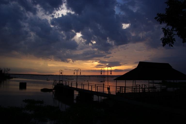 Sunset on Lake Victoria (at Kiboko Bay Resort)