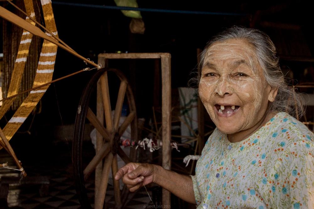 Myanmar_SAMIR_DAVE_Cotton_Spinner_Inle